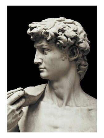 David Posters by  Michelangelo