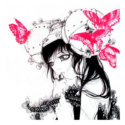 Cho-chan Prints by Camilla D'Errico