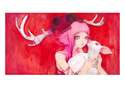Gentle Fawns Prints by Camilla D'Errico