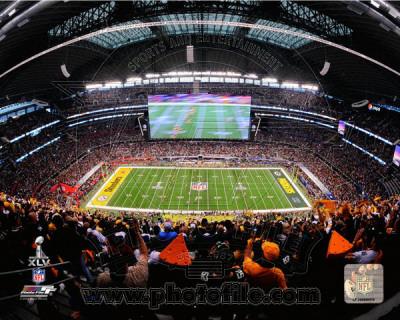 Cowboys Stadium Opening Kickoff Super Bowl XLV Photo