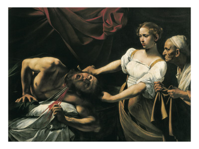 Judith and Holofernes Prints by  Caravaggio
