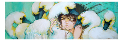 Weeping Swans Prints by Camilla D'Errico