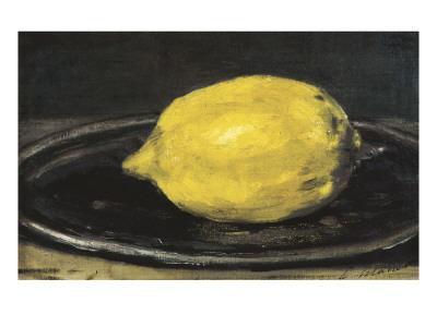 The Lemon (Le Citron) Posters by Édouard Manet