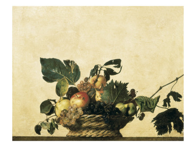Basket with Fruit Prints by  Caravaggio