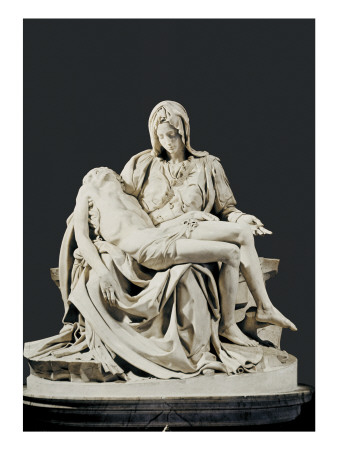 Pieta Prints by  Michelangelo