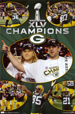 NFL - Green Bay Packers 2011 Green Bay Packers Super Bowl XLV Champions