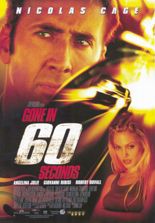 Gone in 60 Seconds Masterprint