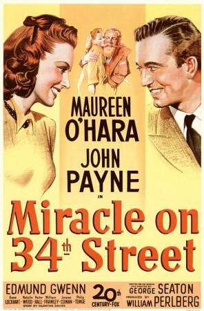 Miracle on 34th Street Masterprint