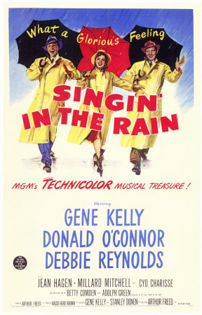 Singing in the Rain Masterprint