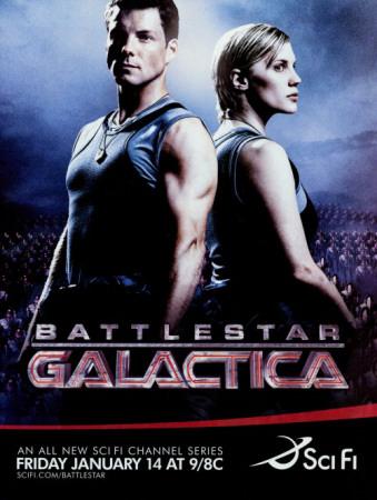 Battlestar Galactica Masterprint