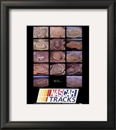 Nascar Tracks Prints by Mike Smith