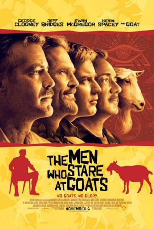 The Men Who Stare at Goats Masterprint