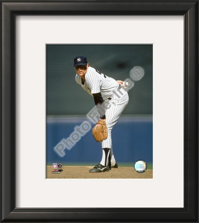 """Rich """"Goose"""" Gossage Framed Photographic Print"""