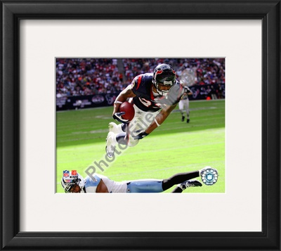 Arian Foster 2010 Action Framed Photographic Print