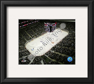 Consol Energy Center First Game 2010-11 Framed Photographic Print