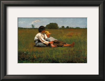 Boys in a Pasture, 1874 Posters by Winslow Homer