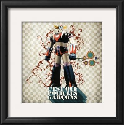 C'Est Que Pour les Garçons (Only for Boys) Posters by Florence Weiser