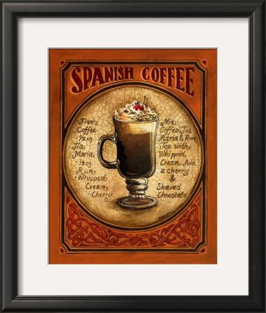 Spanish Coffee Prints by Gregory Gorham
