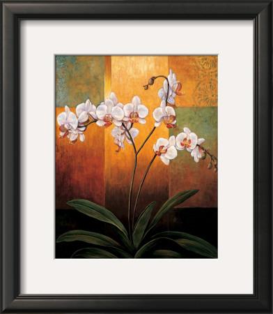 Orchids Print by Jill Deveraux