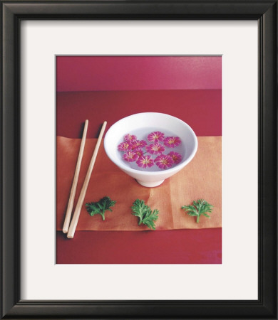 Bowl with Flowers Posters by Amelie Vuillon