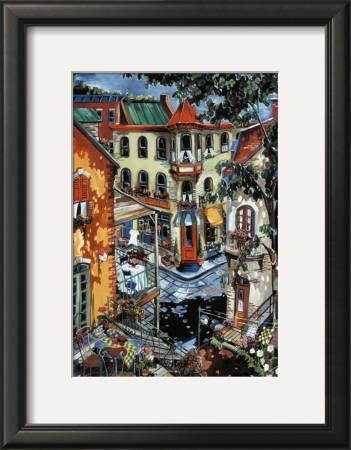 From My Balcony Art by Josée Miller