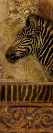 Elegant Safari V Art by Patricia Quintero-Pinto