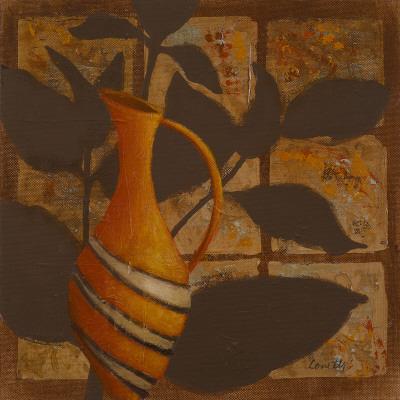 Little Striped Vase I Prints by Lanie Loreth