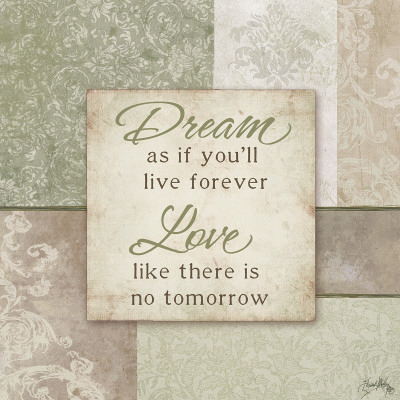 Dream and Love Print by Elizabeth Medley