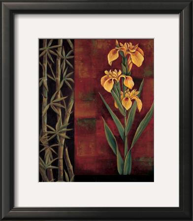 Yellow Iris Prints by Jill Deveraux
