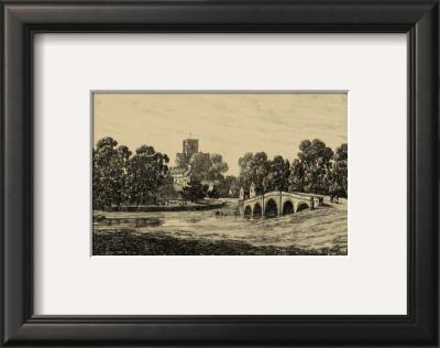 Idyllic Bridge II Art by I.g. Wood