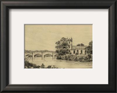 Idyllic Bridge IV Art by I.g. Wood