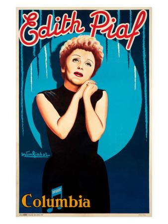 Edith Piaf Giclee Print