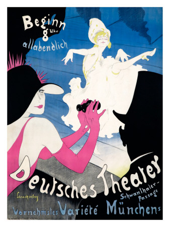 Deutsches Theater reproduction procédé giclée