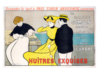 Huitres Exquises Giclee Print
