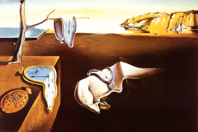 Persistence Of Memory Poster by Salvador Dalí