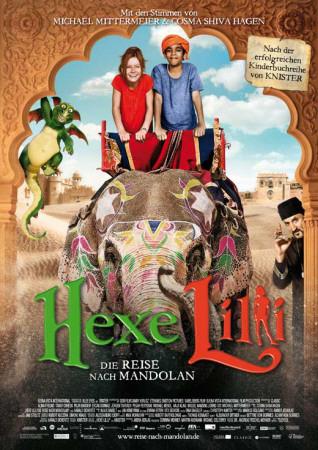 Hexe Lilli: Die Reise nach Mandolan - German Style Masterprint