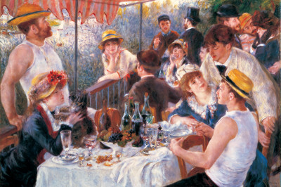 Luncheon Photo by Pierre-Auguste Renoir