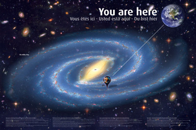 Universe: You Are Here Prints