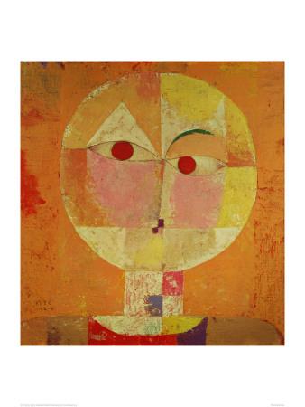 Senecio Prints by Paul Klee