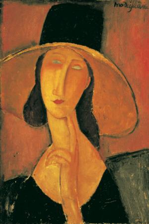 Jeanne Hebuterne Stampa di Amedeo Modigliani