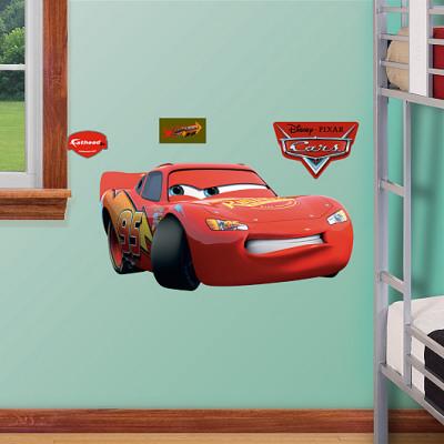 Lightning McQueen Fathead Junior Wall Decal