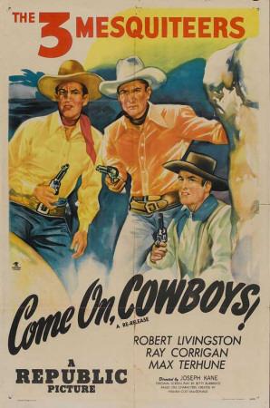 Come On, Cowboys Masterprint