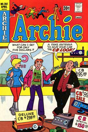 Archie Comics Retro: Archie Comic Book Cover No.261 (Aged) Prints