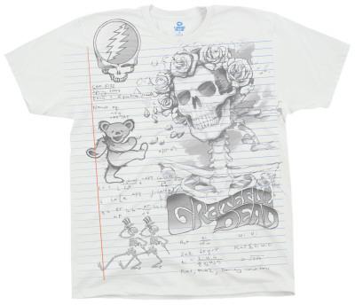 Grateful Dead - GD Sketch T-shirts