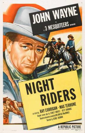 The Night Riders Masterprint