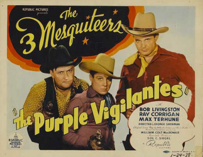 The Purple Vigilantes Masterprint