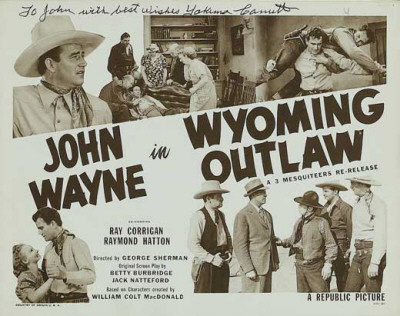 Wyoming Outlaw Masterprint