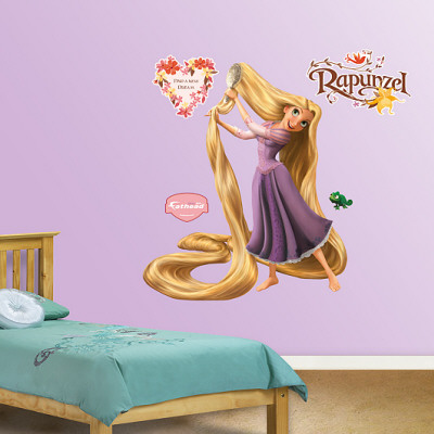 Tangled Wall Decal