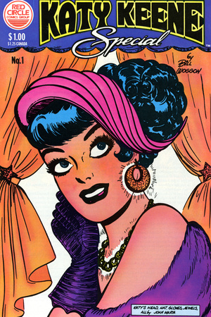 Archie Comics Retro: Katy Keene Special Comic Book Cover #1 (Aged) Reproduction d'art