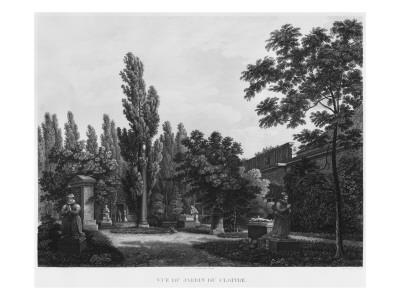 Garden of the Cloister, Musee Des Monuments Francais, Paris Premium Giclee Print by Jean Lubin Vauzelle